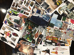 Mood board creation of the students