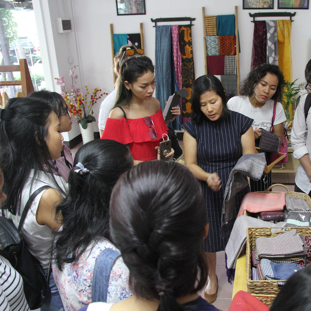 Fabric Sourcing at Color Silk