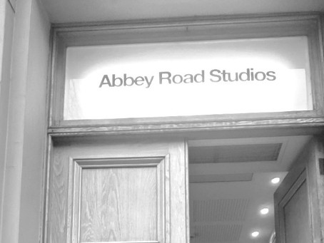 Blogging in the time of a pandemic- Abbey Road Studios