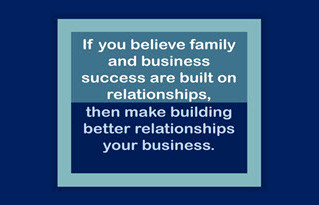 What Relationship Are You Building Today?