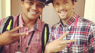 Derick and Jason Mraz!