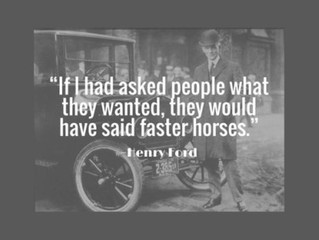 Deliver More Than Faster Horses