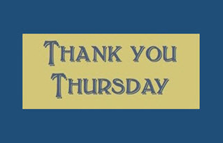 It's Time to Give Thanks Every Thursday