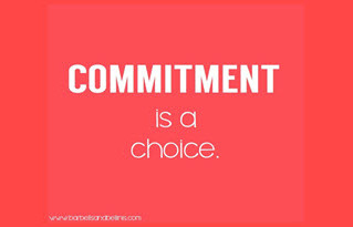 Do You Base Your Actions on Your Commitments or Feelings?