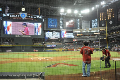 DS AZ Dbacks Stadium View