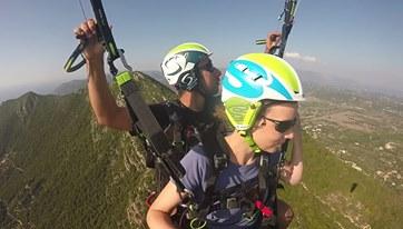 corfu paragliding