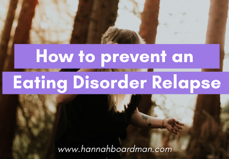 How can I Stop an Eating Disorder Relapse?