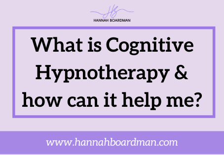 HOW CAN COGNITIVE HYPNOTHERAPY HELP ME?