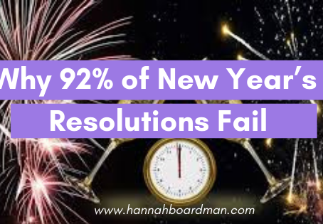 Why 92% of New Year's Resolutions Fail (and what to do instead)