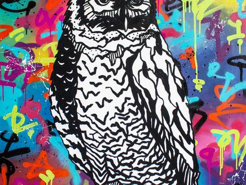 Extra-ordinary eagle owl