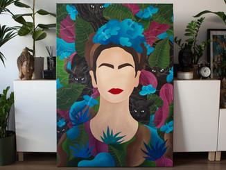 Faces and symbols - Frida