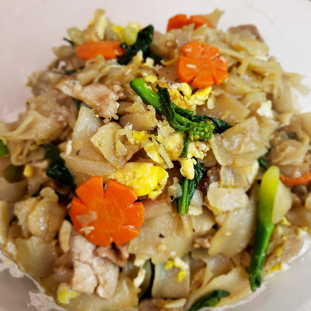 It's what I call Thai fast food! This deliciously chewy pan-fried rice noodles is a popular street food in Thailand, and it's super easy to whip up at home!