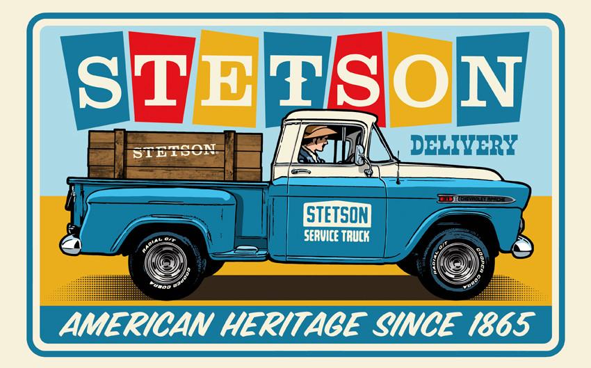 Never steel a STETSON