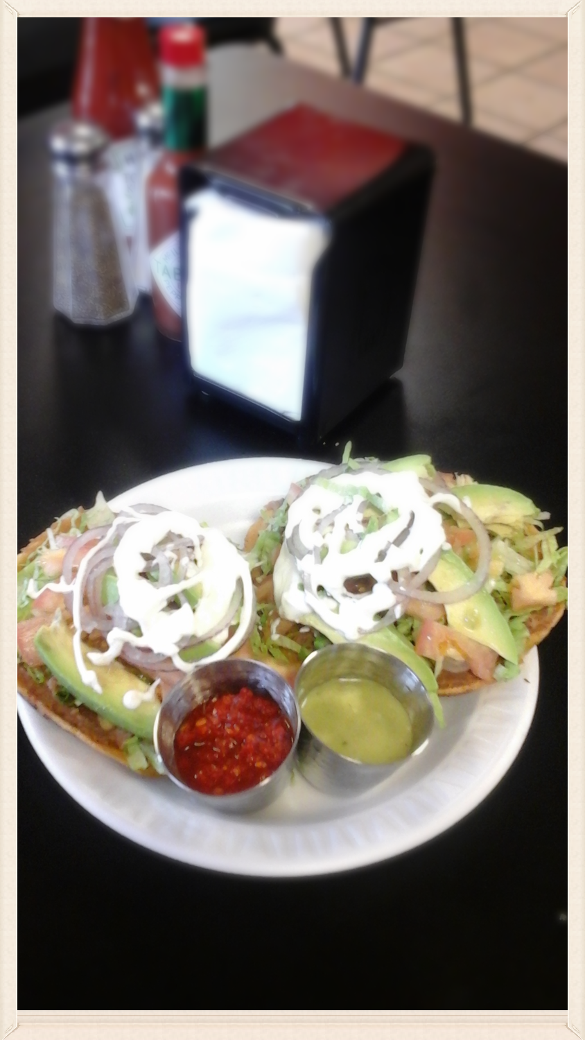 Loaded Tostadas