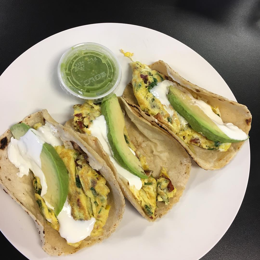 """Frida"" Breakfast Tacos!"