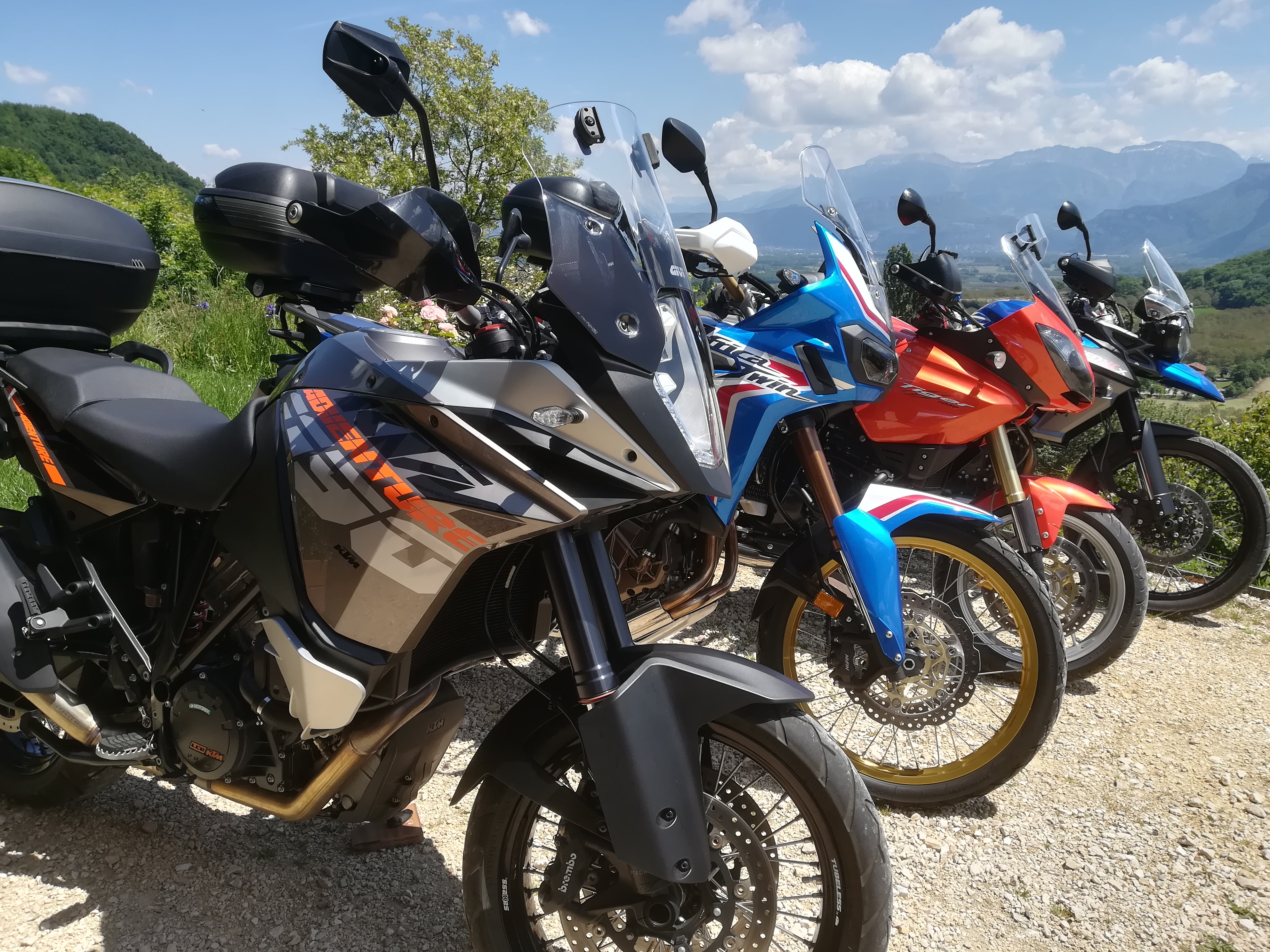 Nos Motos / Our motorcycles