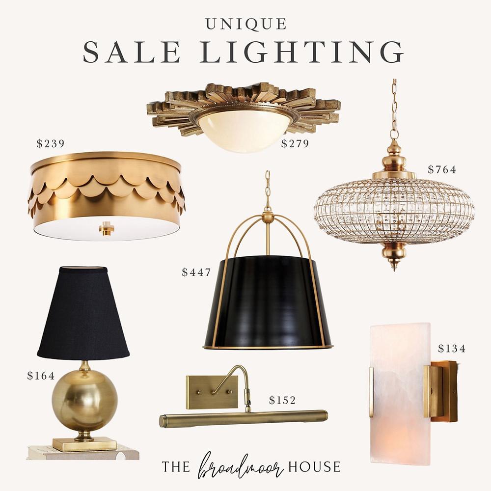Unique lighting, Ballard lighting, flush mount
