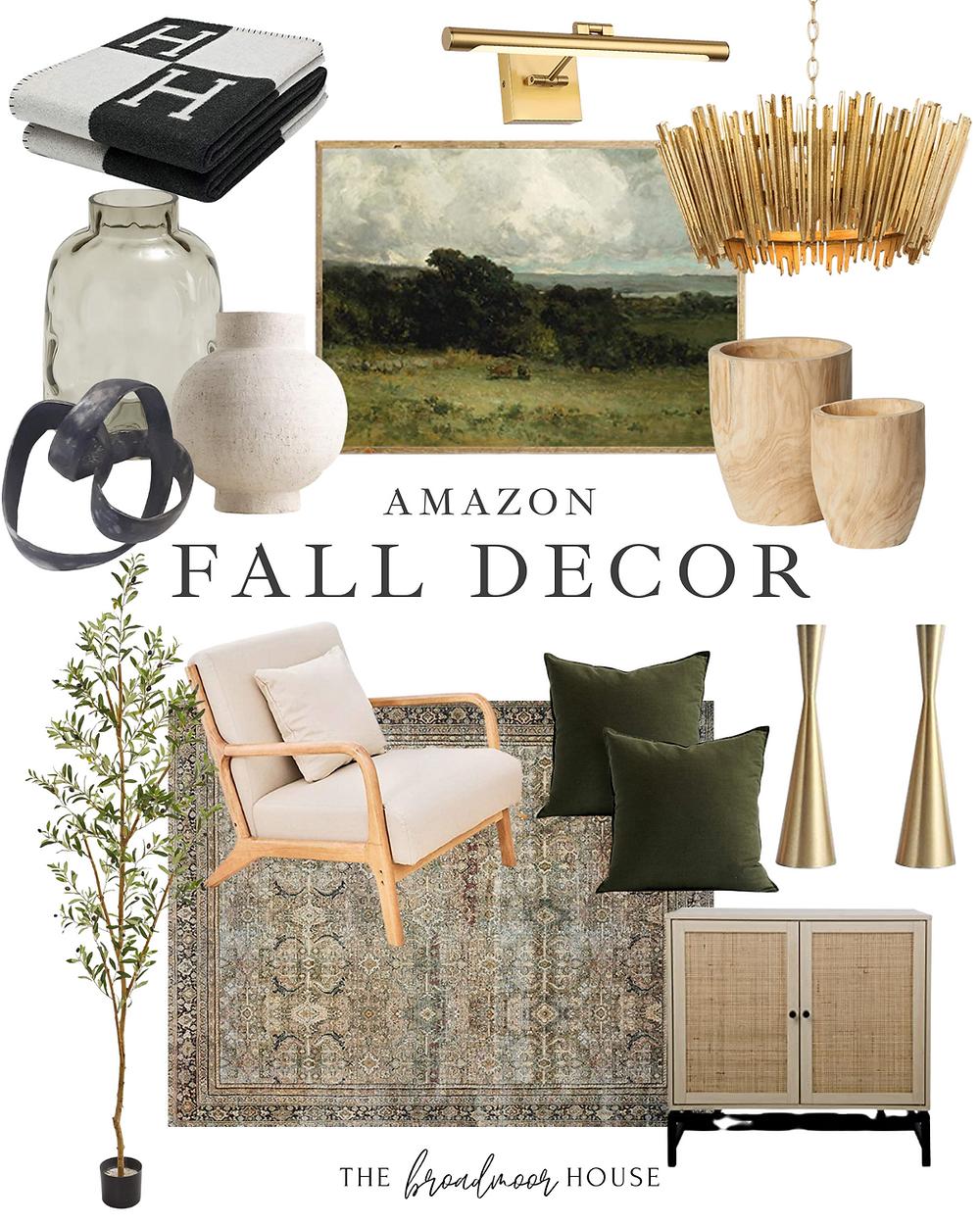 Amazon Home Decor, Amaozon four Decor, Neutral Decor, Modern  Decor, olive green fall