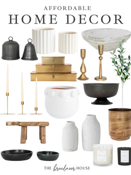 Affordable Home Decor from Amazon Target & More