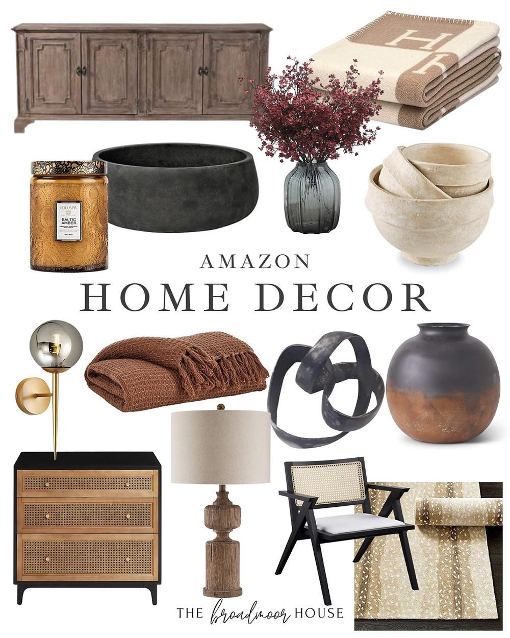 Fall decor, amazon decor, amazon finds, neutral decor