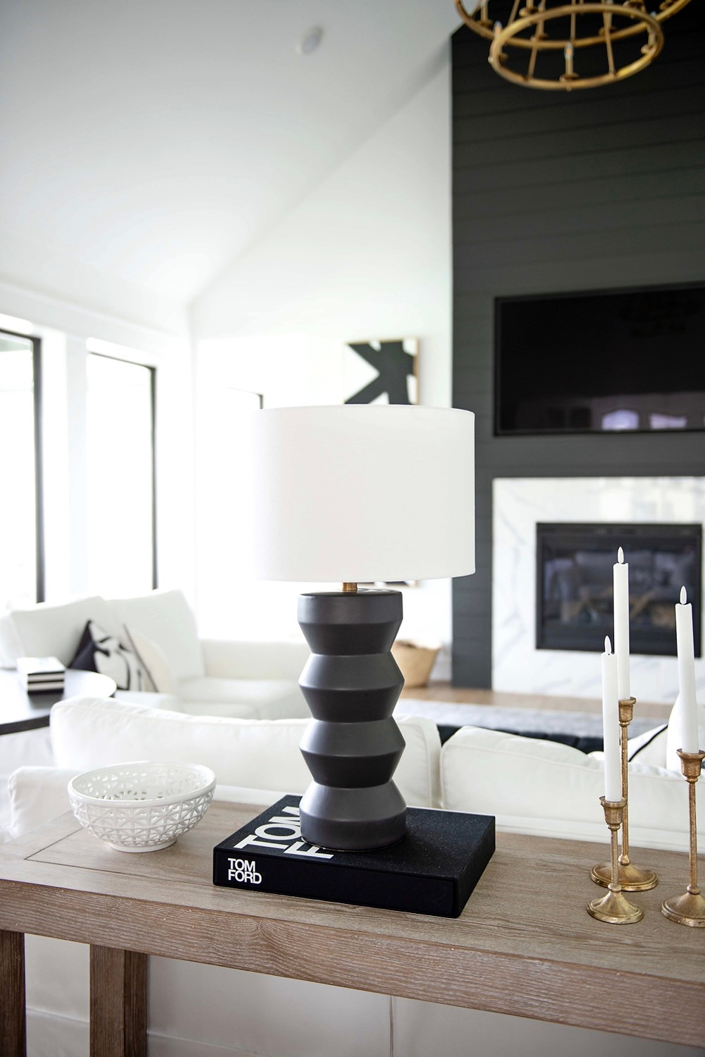 Modern home decor, modern lamp