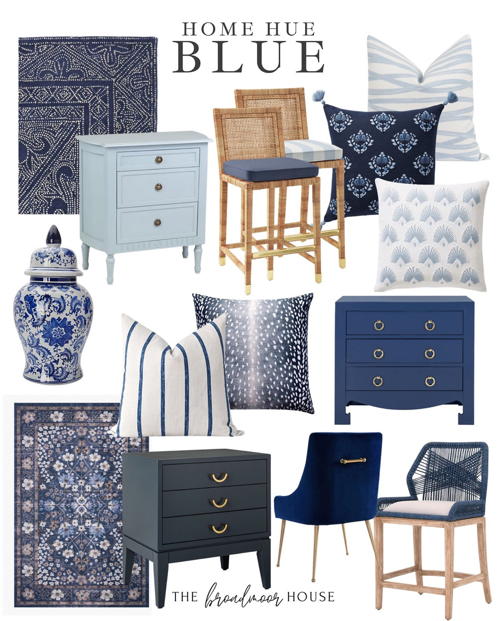 Chinoiserie , blue decor, navy decor, navy living room,