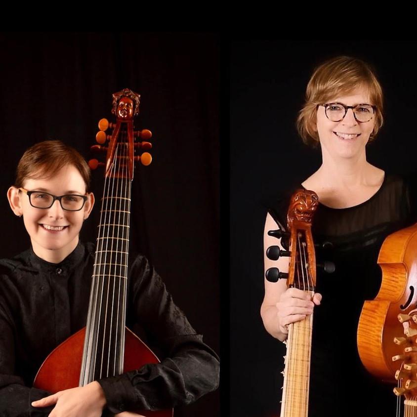 Poeticall Musicke: Julie Elhard & Maryne Mossey, viols; Paul Berget, lute