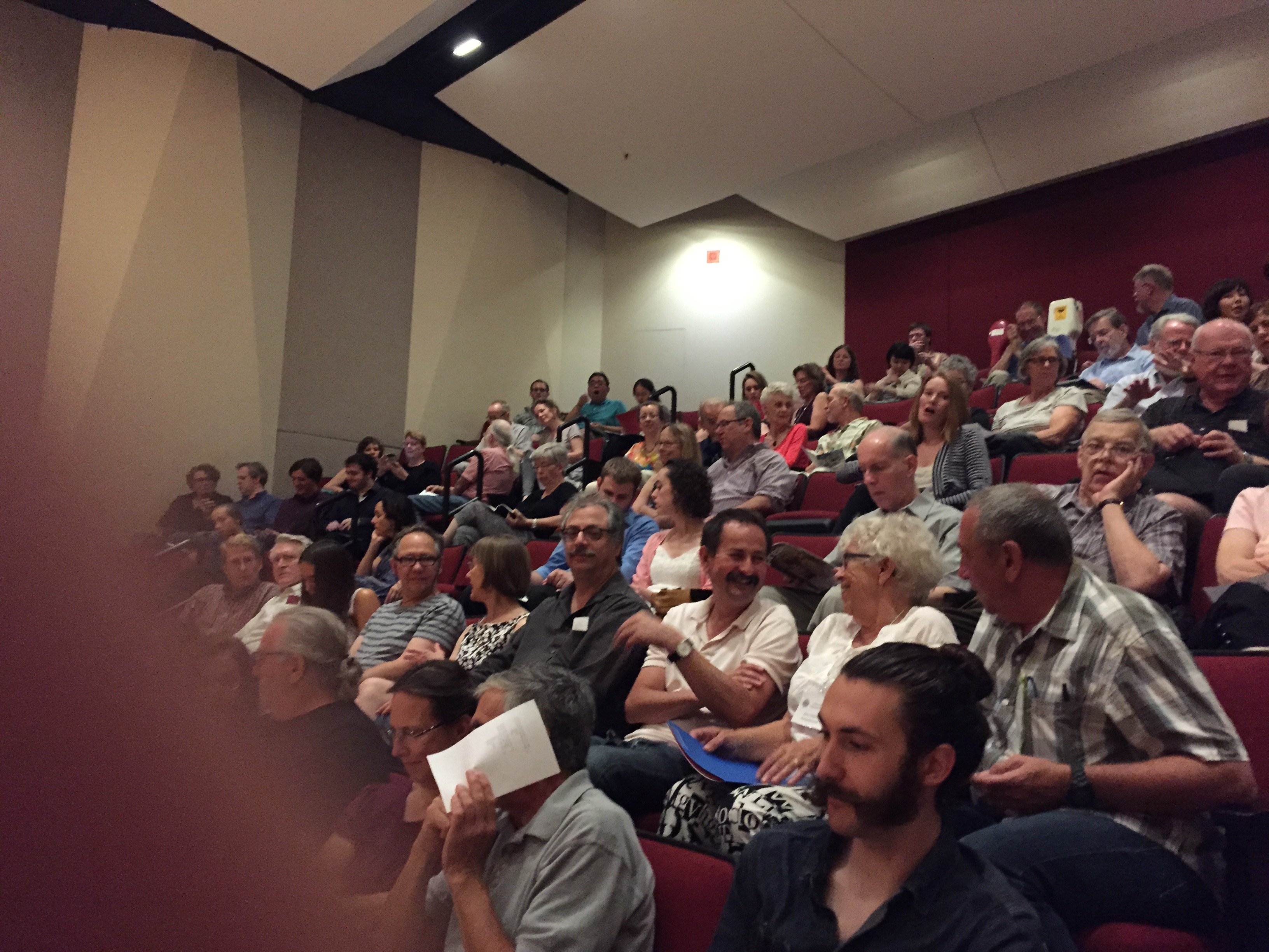 Audience at UMN