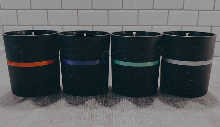 Thin Line Emergency Service Candles