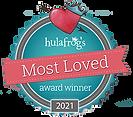 hula frog most loved award.png