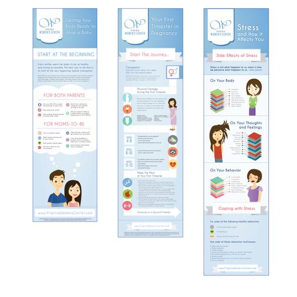 Virginia Women's Center Infographics