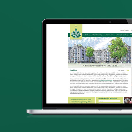 Simpson House Website Design