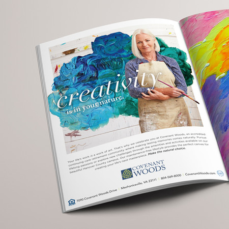 Covenant Woods Print Ad: It's in Your Nature