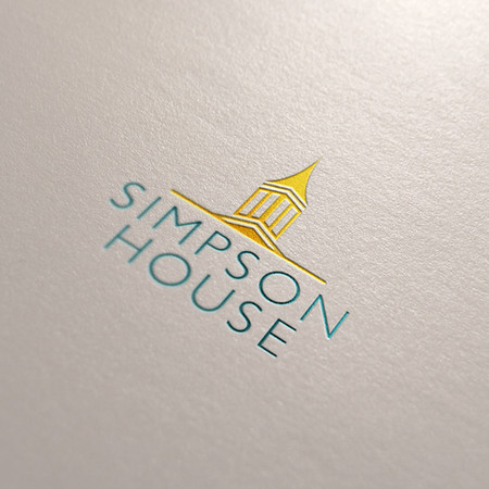Simpson House Retirement Community Logo Design