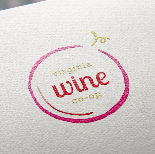 Virginia Wine Co-Op Logo Design