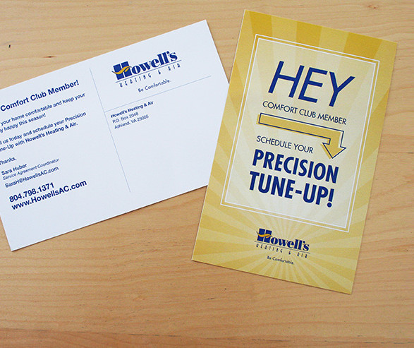 Howell's Heating & Air Direct Mail