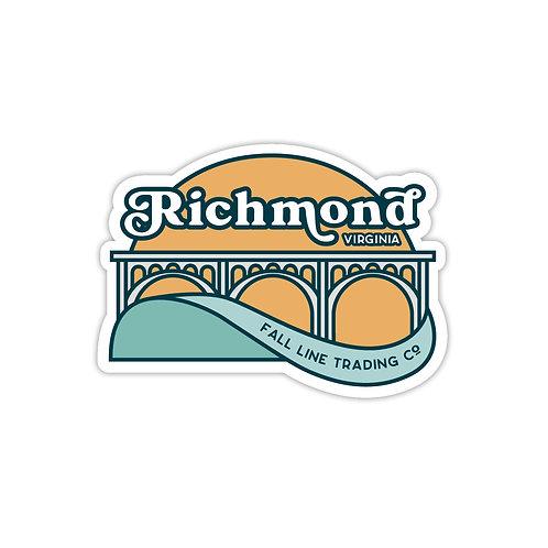 Richmond, VA Sticker