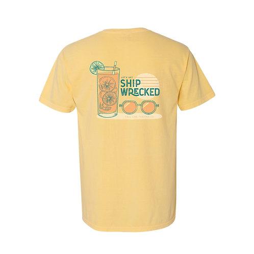 Shipwrecked Pocket Tee