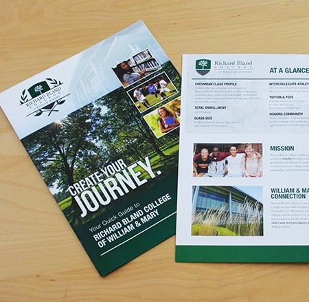 Richard Bland College Brand Brochure