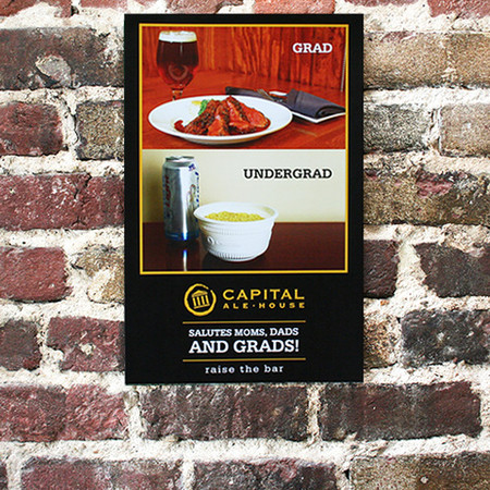 Capital Ale House Poster Design