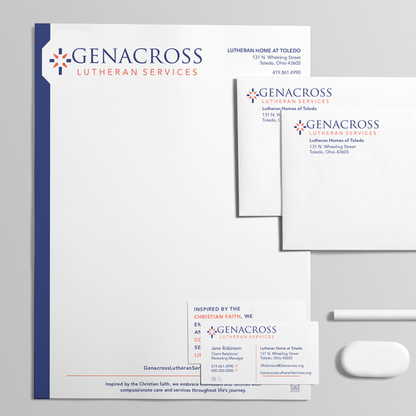 Genacross Lutheran Services Collateral Package