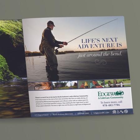 Edgewood Print Ad: Life's Next Adventure