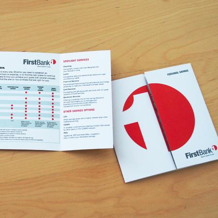 First Bank Personal Savings Brochure