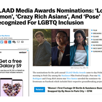 Deadline: GLAAD Media Awards Nominations