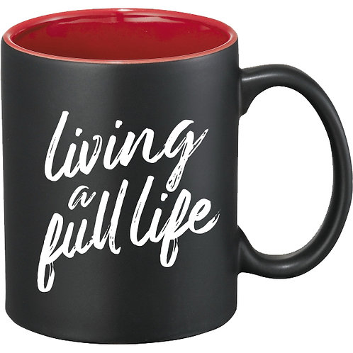 Quiet Heroes Mug (Living a Full Life)
