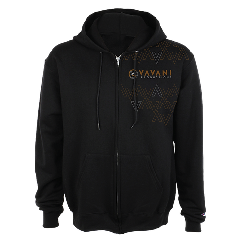 Quiet Heroes Hoodie (with zipper)