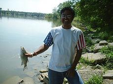 Anirban Das, White Bass Fishing, Maumee