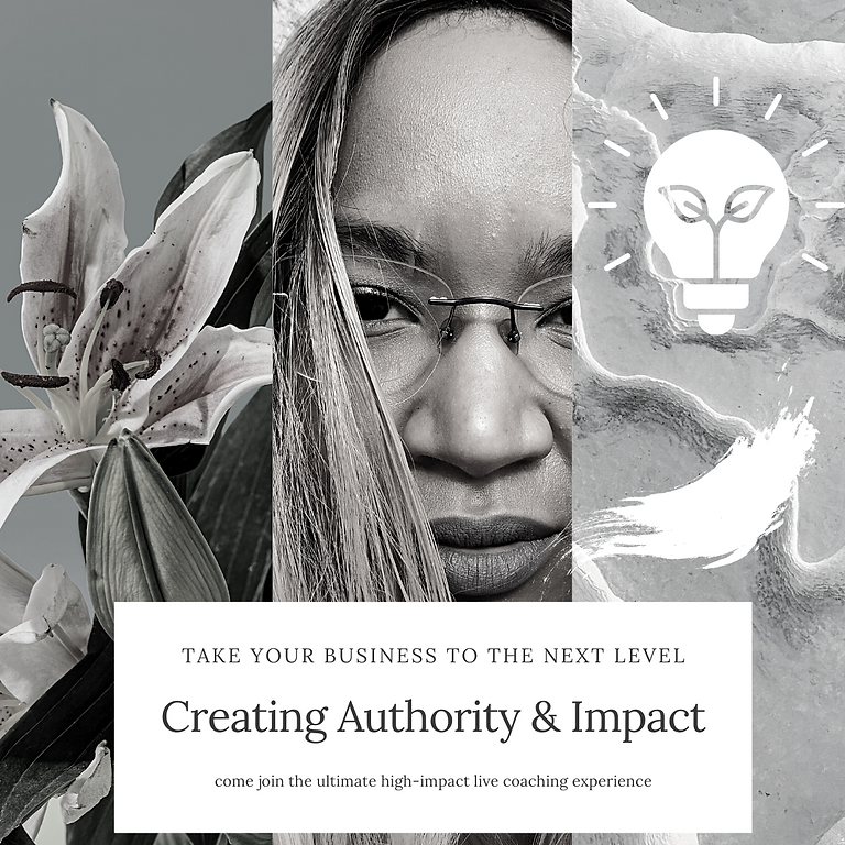 Take Your Business To The Next Level - Creating Authority & Impact