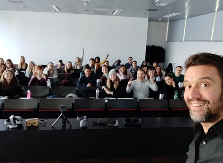 Guest lecture: mixed reality opportunities in eTourism
