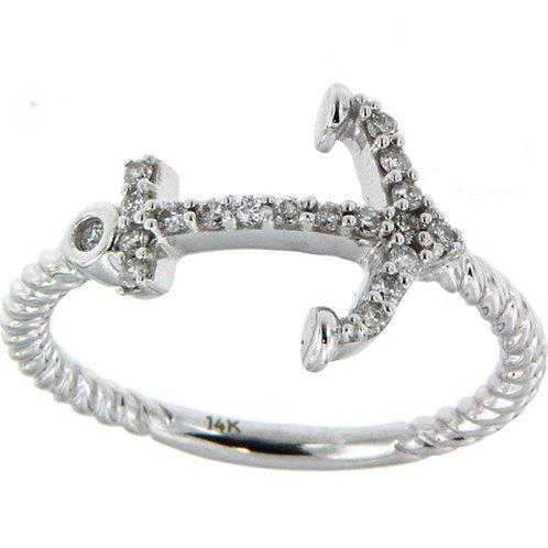 Diamond Anchor Ring
